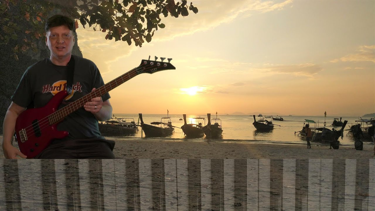"""Thailand Sunset with our Music Version of """"Holiday Road"""""""