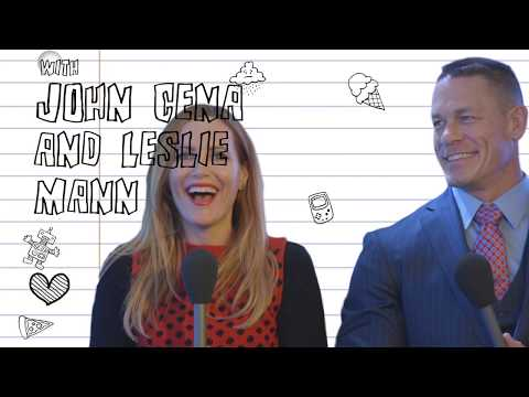 Leslie Mann and John Cena: My boob was out! My Teenage Self