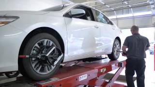 Nalley Toyota Stonecrest The Proper Alignment Check