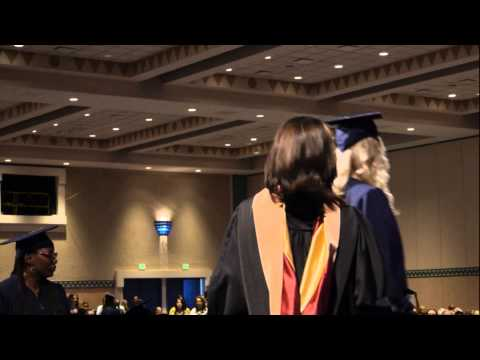 WGU Winter 2015 Commencement, Bachelor's Convocation Ceremony