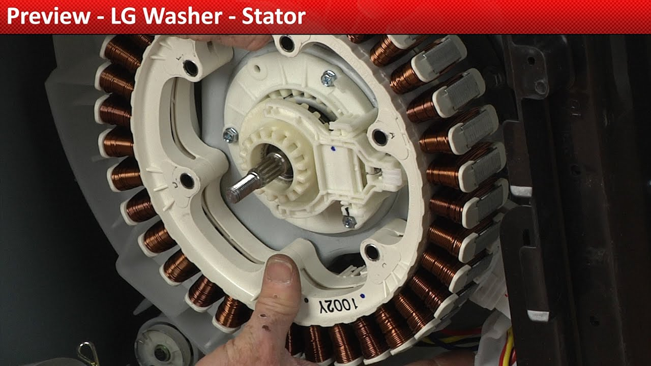 LG Washer stator replacement