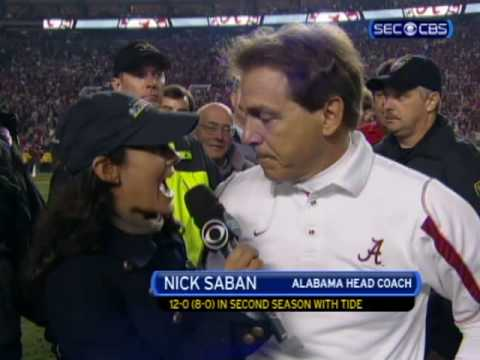 On the Field with Nick Saban