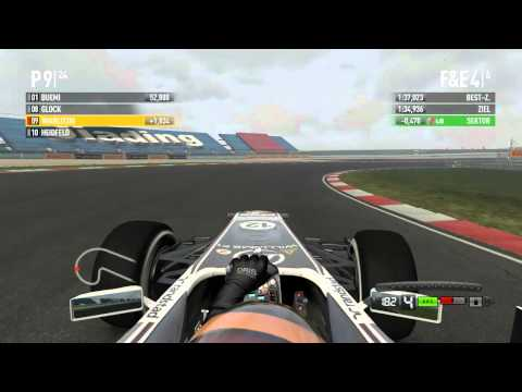 Let's Play F1 2011 #009 [GERMAN] Shanghai Training