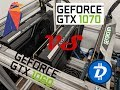 My Experience with a EVGA 1060 vs 1070 TI Founders Card Mining RavenCoin and Digibyte