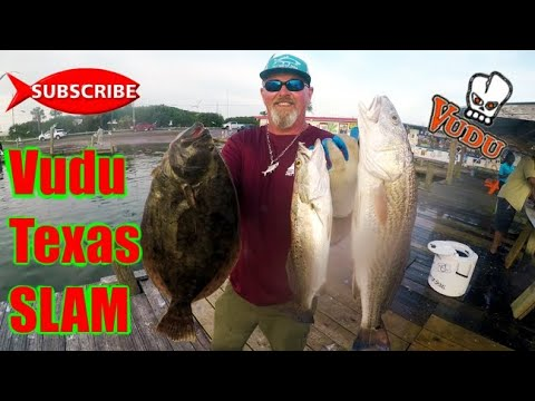 Inshore Fishing Galveston West Bay Vudu Slam
