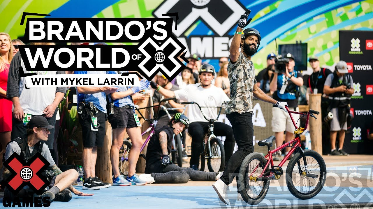 MYKEL LARRIN: Stay True To The Craft | X GAMES PODCAST
