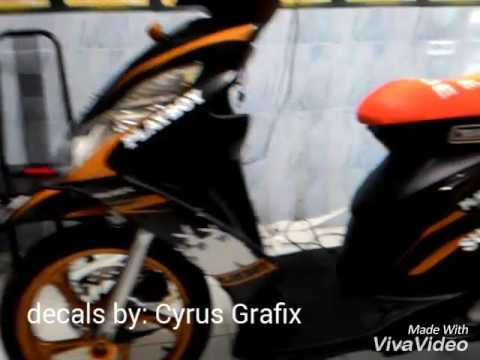 Cyrus Grafix Decals For Skydrive Payboy Concept YouTube - Mio decalscyrus grafix decals youtube