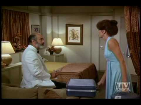 Pernell Roberts as Brian Mallory on Love Boat Clip 2