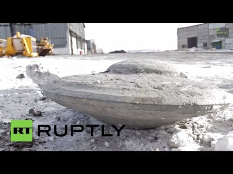 Russia: Proof UFOs exist? FLYING SAUCER discovered... UNDERGROUND!