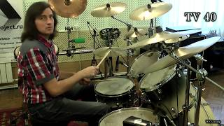Руслан Моисеев видео уроки игры на барабанах