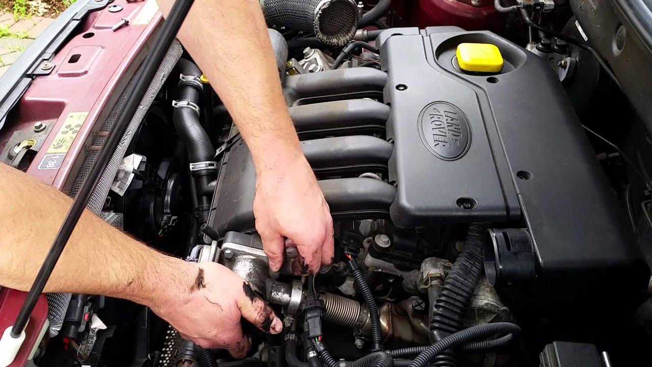 Land Rover TD4BMW 20D EGR Valve Delete (Blanking Kit Install)  YouTube
