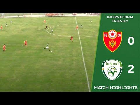 HIGHLIGHTS | Montenegro MU15 0-2 Ireland MU15
