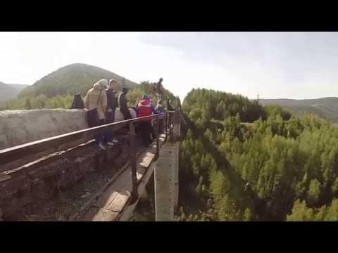Супермен на чертовом мосте! Дивногорск