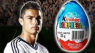 Cristiano Ronaldo CR7 Kinder Surprise Egg - Memo Ochoa, Mexico Brasil 0 0 - Brazil 2014 World Cup
