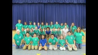 Oppe Elementary NOAA Ocean Guardian School Green Team 2018