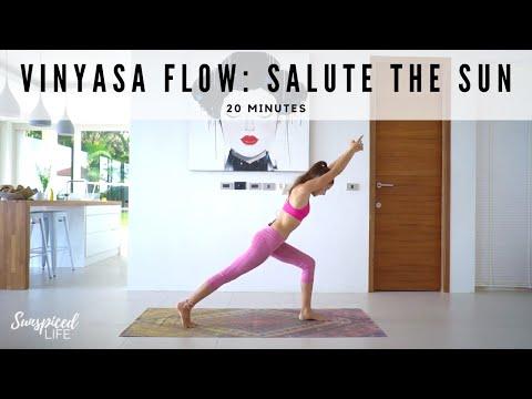 20 Minute Vinyasa Flow - Salute The Sun