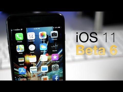 iOS 11 Beta 6 - What