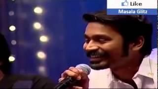 Thanush singing songs