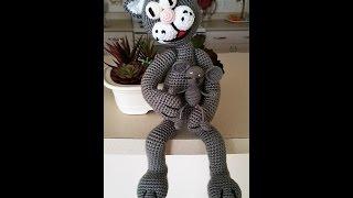 Kот вязаный крючком .Mастер класс...Amigurumi cat crochet pattern