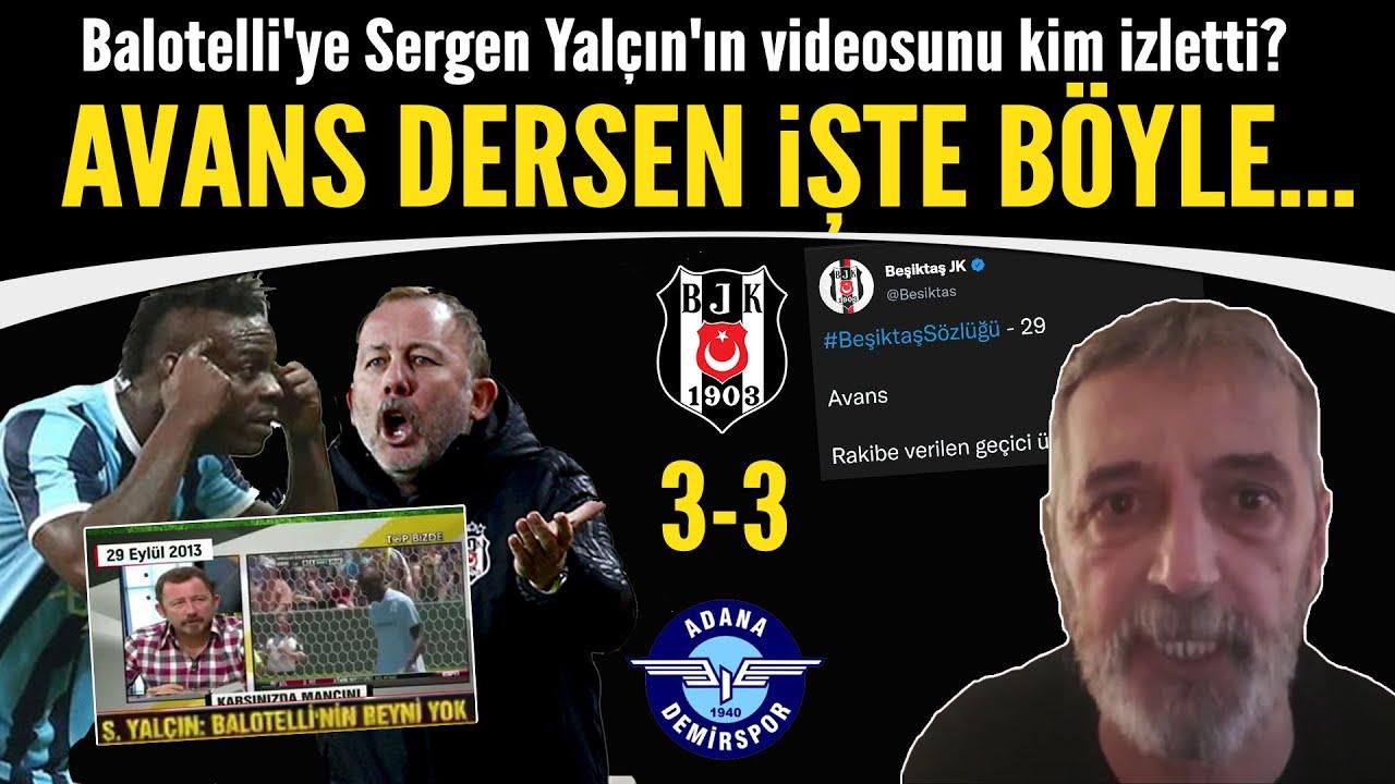 Download Abdülkerim Durmaz'dan Beşiktaş'a gönderme! Balotelli'ye Sergen Yalçın'ın videosunu kim izletti?