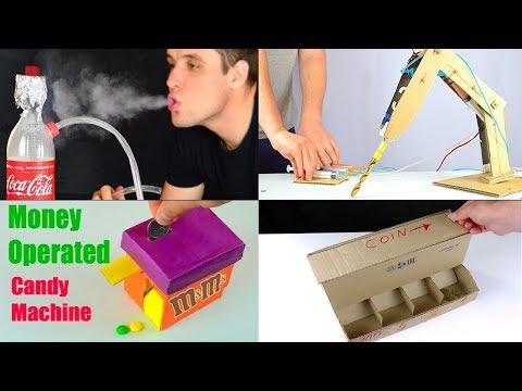 4 Amazing Things You Can Do at Home Compilation