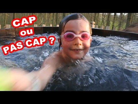 CAP ou PAS CAP BAIGNADE dans les ARBRES & CHALLENGE en FAMILLE - Démo jouets