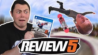 Tony Hawk's Pro Skater 5 Review - Square Eyed Jak
