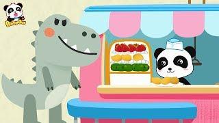 和霸王龍一起吃甜品+更多合集 | 學顏色兒童卡通動畫 | 幼兒音樂歌曲 | 兒歌 | 童謠 | 動畫片 | 卡通片 | 寶寶巴士 | 奇奇 | 妙妙