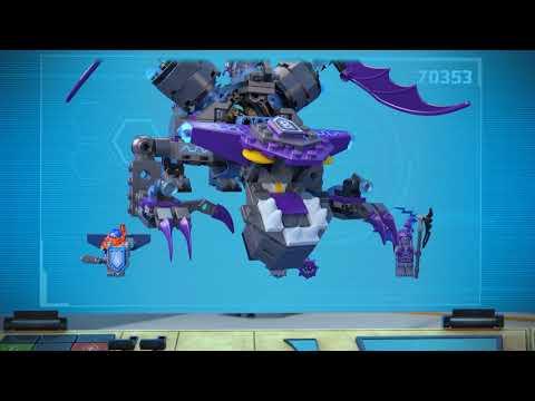 Frightful Knight Flight - LEGO NEXO KNIGHTS  - 70353 + 70361 Product Animation