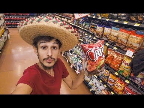 Meksika'da İlginç Bir Süpermarkete Gittim! - FİYATLAR VE YAŞAM