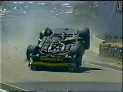Bathurst 1982 - Kevin Bartlett Roll Over - footage / interviews / analysis after roll over.
