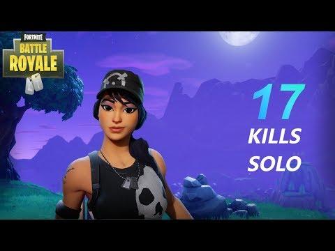 17 Solo Kills (Fortnite Battle Royale)