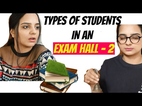 Types Of Students In  Exam Hall- PART 2   Funny  Indian Videos