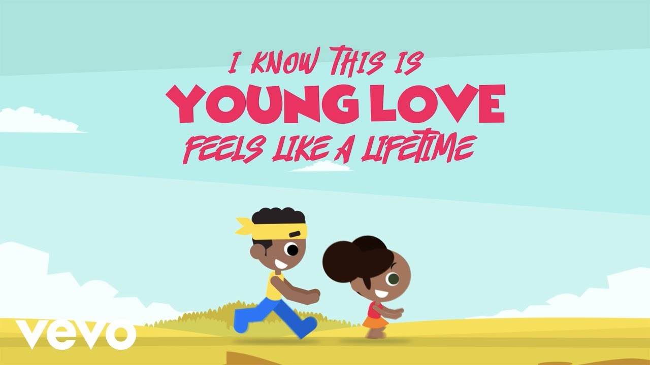 Adekunle Gold - Young Love (Official Lyric Video)