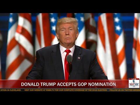 FULL SPEECH: Donald Trump Accepts Republican Nomination for President  (7-21-16)