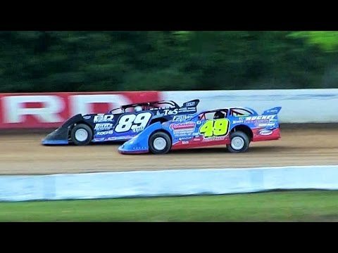 Late Model Heat 1 at Hartford Speedway on 7-8-16