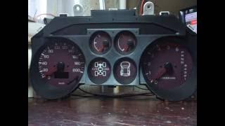 Пересвет приборной панели Mitsubishi Pajero 3