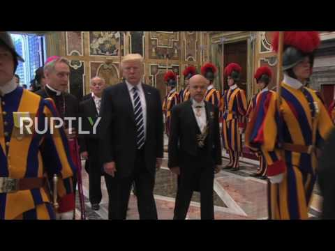 Holy See: Trump meets with Pope Francis in Vatican City