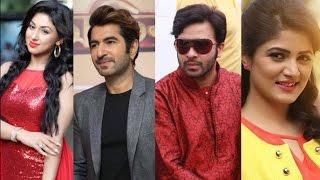 এবার এক ছবিতে জিৎ অপু এবং শাকিব শ্রাবন্তী !!! Jeet & Shakib Khan Latest News