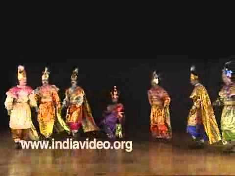 Caralman Charitram Chavittunatakam - Excerpt 1