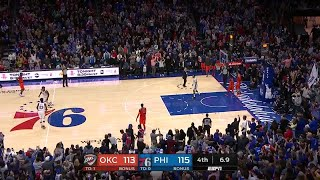 4th Quarter, One Box Video: Philadelphia 76ers vs. Oklahoma City Thunder