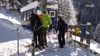 Mit der Karwendel-Bergbahn im Winter auf den Zwölferkopf