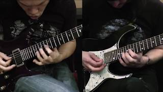 DragonForce - Defenders (Herman Li & Sam Totman Solos Live Playthrough)