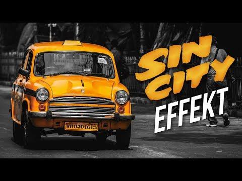 Sin City Effekt - Adobe Photoshop Tutorial | #PhotoshopBasics | PhotoshopHelpGerman thumbnail
