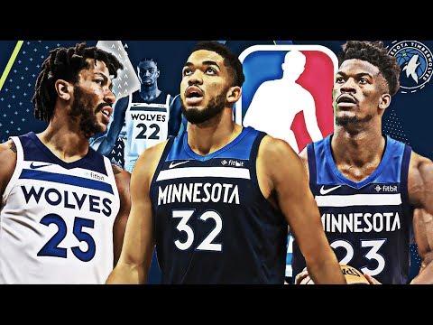 REBUILDING THE 2018-2019 MINNESOTA TIMBERWOLVES! ROAD TO CHAMPIONSHIP! NBA 2K18 MY LEAGUE