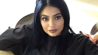 Kylie Jenner Debuts Navy Blue Locks After Revealing Bleach 'Destroyed' Her Natural Hair