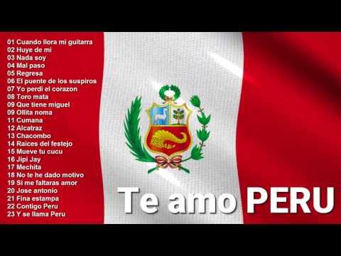FELICES FIESTAS PATRIAS - MIX Musica Criolla