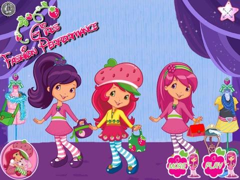 NEW мультики для девочек про принцесс—Клубнички одевалки—Игры для детей/Girls Fashion Performance