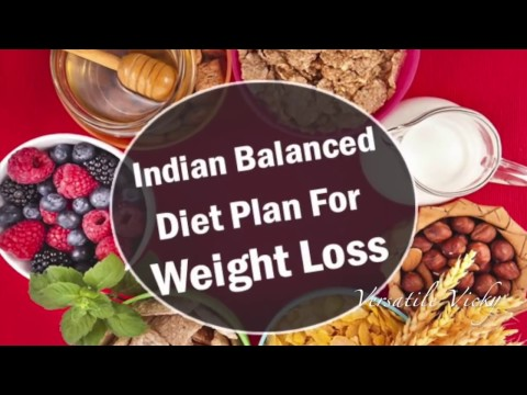 HOW TO LOSE WEIGHT FAST 10Kg in 10 Days   Indian Meal Plan   Indian Diet Plan by Versatile Vicky