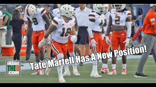 FIRST LOOK!!! Tate Martell at WIDE RECEIVER!